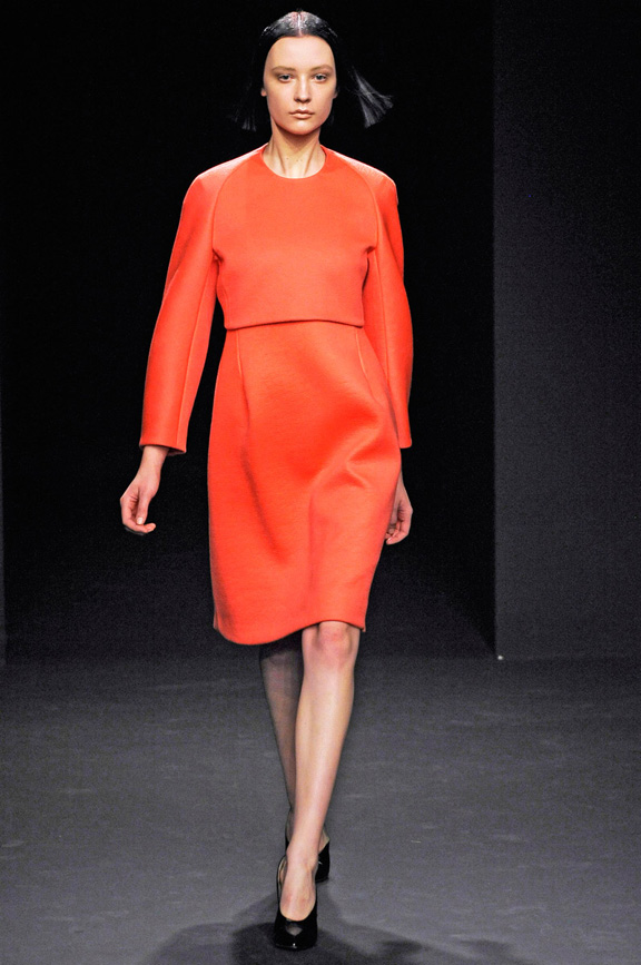New York fashion week, fashion shows, catwalk, fall winter 2012, Calvin Klein, Francisco Costa