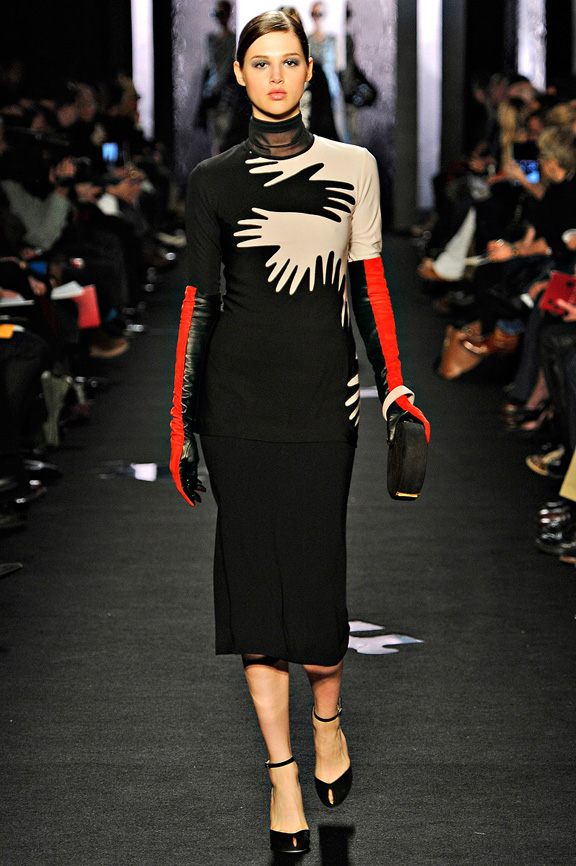 New York fashion week, fashion shows, catwalk, fall winter 2012, Diane Von Furstenberg