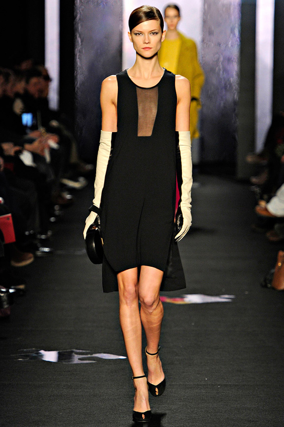 New York fashion week, fashion shows, catwalk, fall winter 2012,