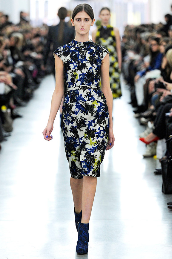 London fashion week, fashion shows, catwalk, fall winter 2012, Erdem<br />