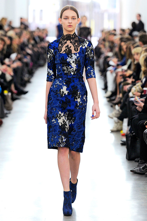 London fashion week, fashion shows, catwalk, fall winter 2012, Erdem