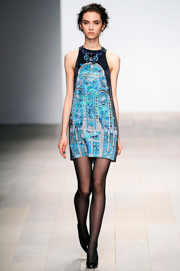 London fashion week, fashion shows, catwalk, fall winter 2012, Holly Fulton