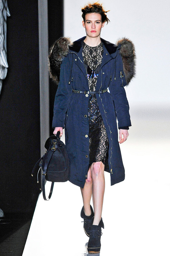 London fashion week, fashion shows, catwalk, fall winter 2012, Mulberry<br />