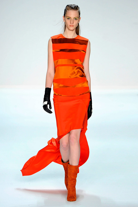 New York fashion week, fashion shows, catwalk, fall winter 2012, Narciso Rodriguez