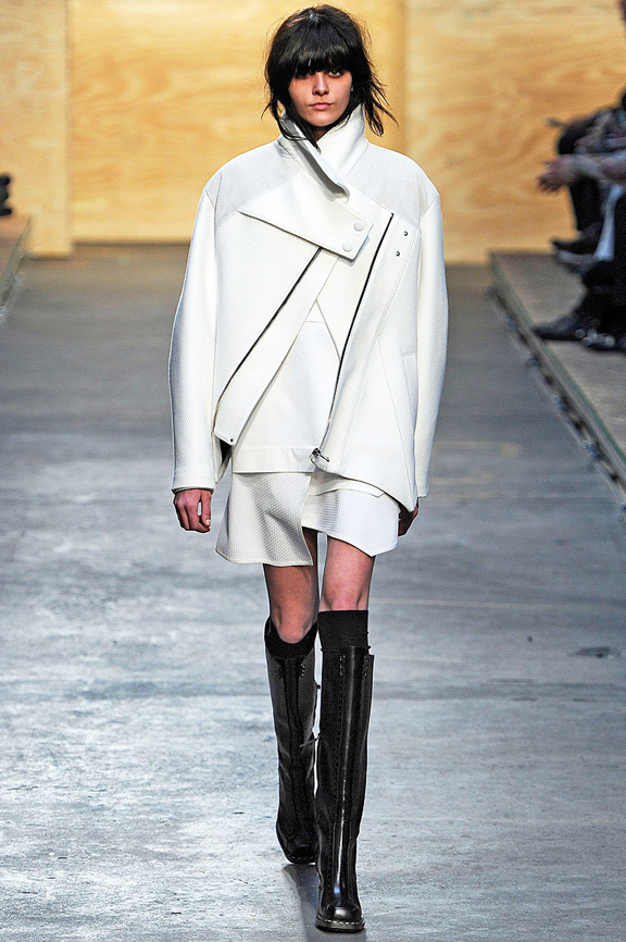 New York fashion week, fashion shows, catwalk, fall winter 2012, Proenza Schouler