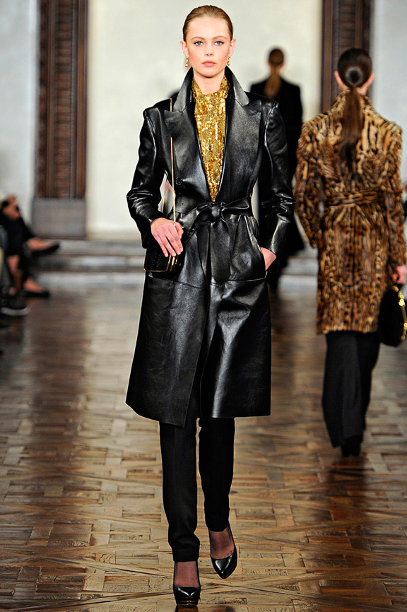 New York fashion week, fashion shows, catwalk, fall winter 2012, Ralph Lauren<br />