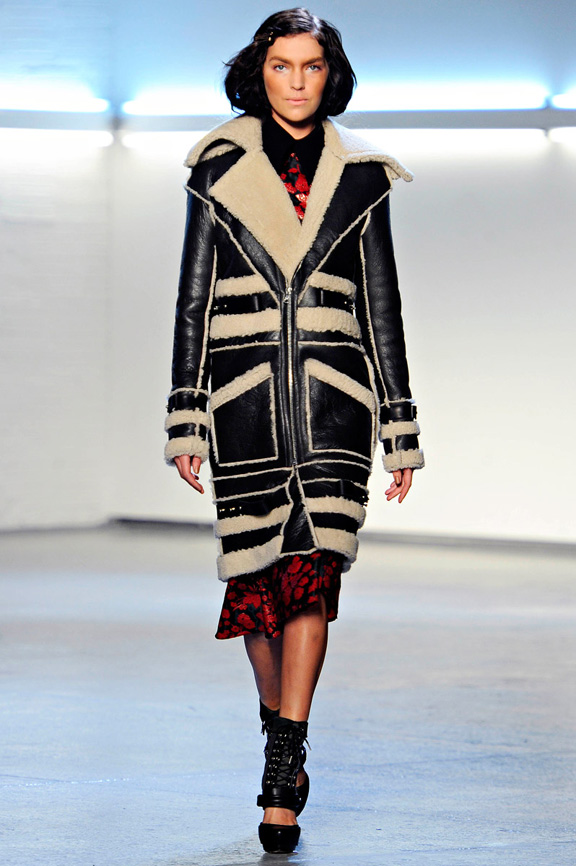 New York fashion week, fashion shows, catwalk, fall winter 2012, Rodarte<br />