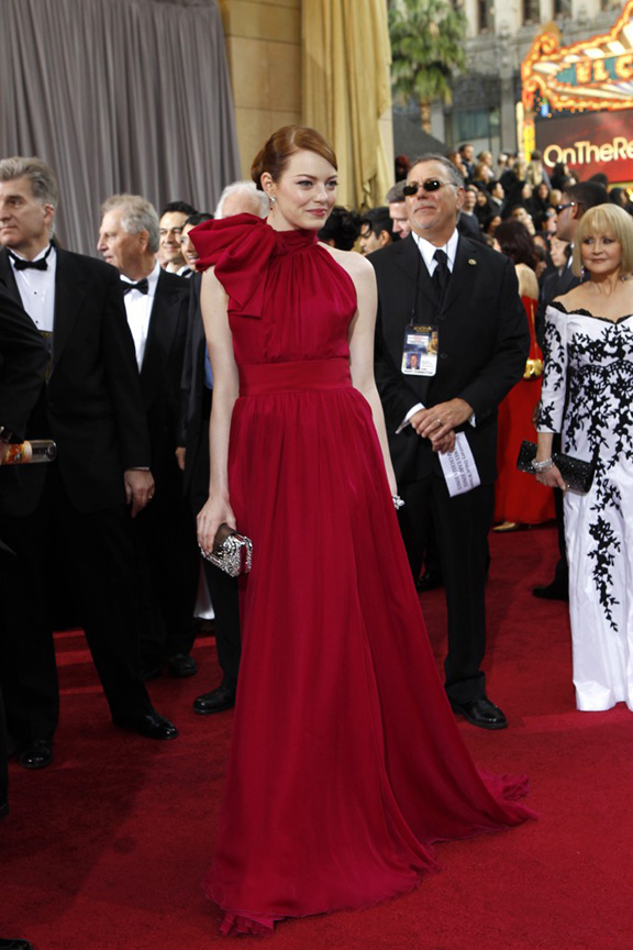 academy awards, oscars, red carpet, celebrities, emma stone