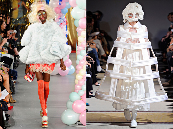 fashion advice column, ask alexandra, press pieces, catwalk, runway, meadham kirchoff, comme des garcons