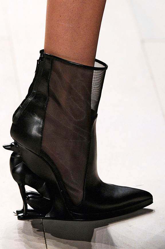 London fashion week, fashion shows, catwalk, fall winter 2012,shoes, david koma