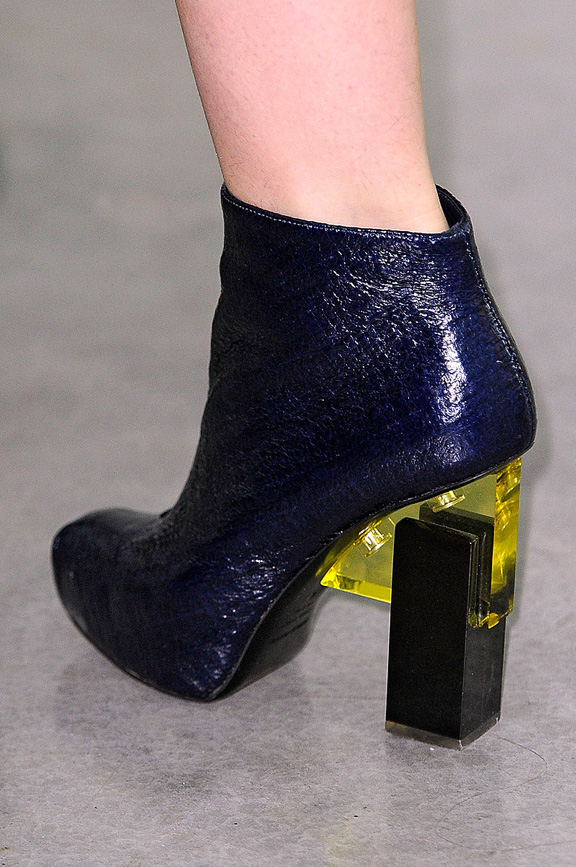 London fashion week, fashion shows, catwalk, fall winter 2012,shoes, erdem