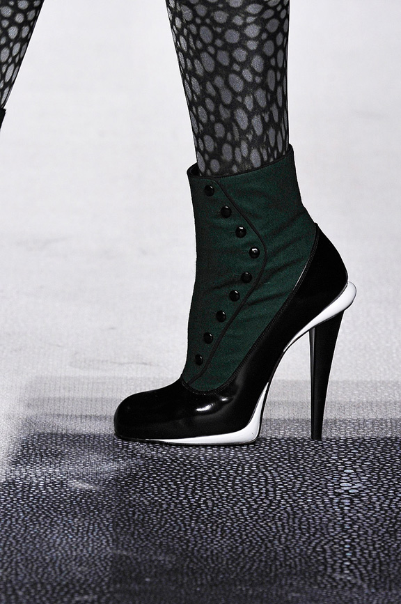 catwalk, runway, amazing shoes, Milan, fall winter 2012, fendi