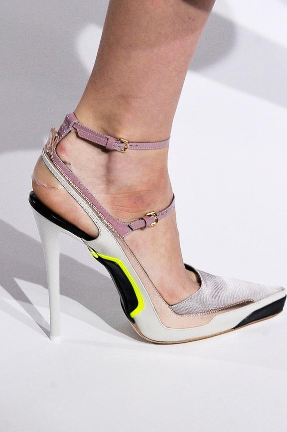 catwalk, runway, amazing shoes, Milan, fall winter 2012, Jil Sander
