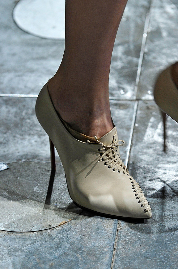 London fashion week, fashion shows, catwalk, fall winter 2012,shoes, mary katrantzou