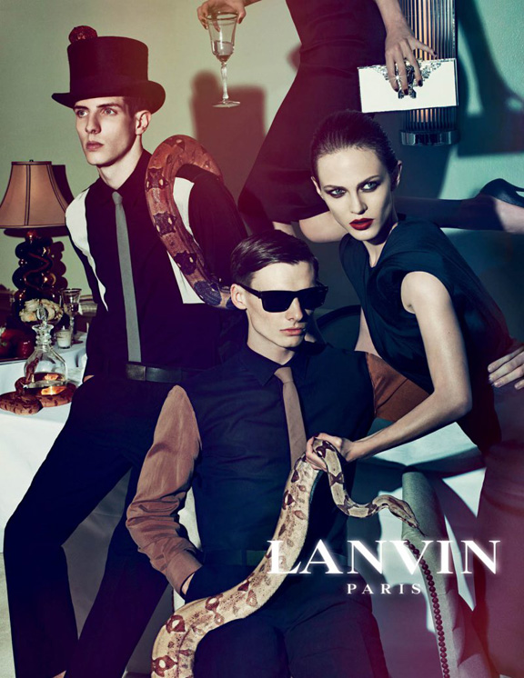 lanvin, steven meisel, spring summer 2012, fashion advertising, fashion photography, ad campaigns, pretty pictures