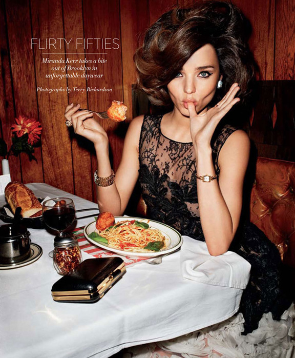 Miranda Kerr, Terry Richardson, fashion magazines, fashion photography, pretty pictures