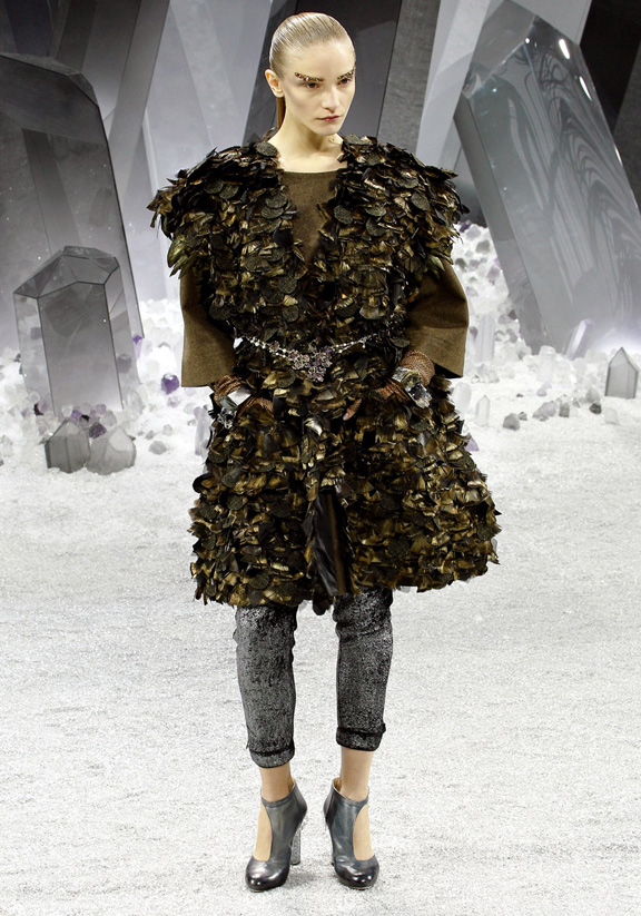 Paris fashion week, fashion shows, catwalk, fall winter 2012, Chanel, Karl Lagerfeld