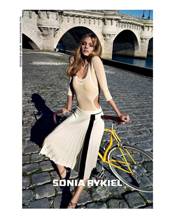 spring summer advertising campaigns, constance jablonski, cedric buchet, sonia rykiel