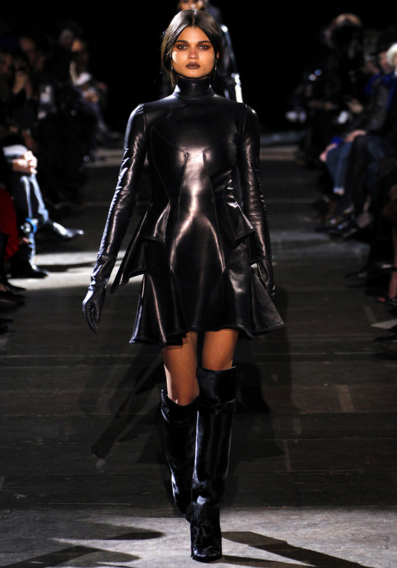 Paris fashion week, fashion shows, catwalk, fall winter 2012, Givenchy, Riccar