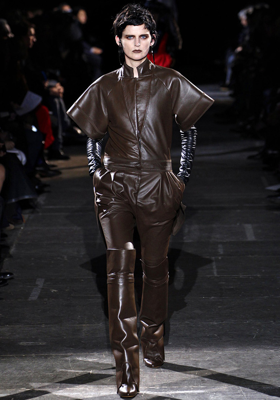 Paris fashion week, fashion shows, catwalk, fall winter 2012, Givenchy, Riccardo Tisci