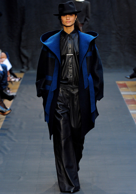 Paris fashion week, fashion shows, catwalk, fall winter 2012, Hermes, Christophe Lemaire