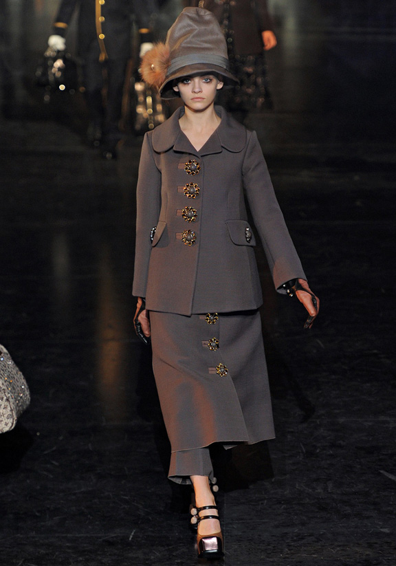 Paris fashion week, fashion shows, catwalk, fall winter 2012, Louis Vuitton, Marc Jacobs