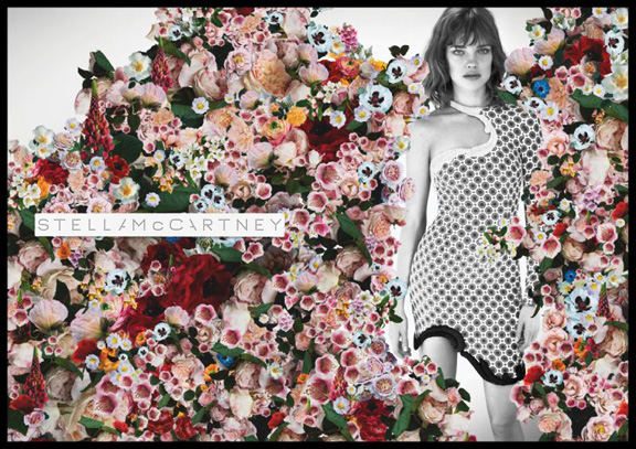 spring summer advertising campaigns, natalia vodianova, stella mccartney, mert and marcus