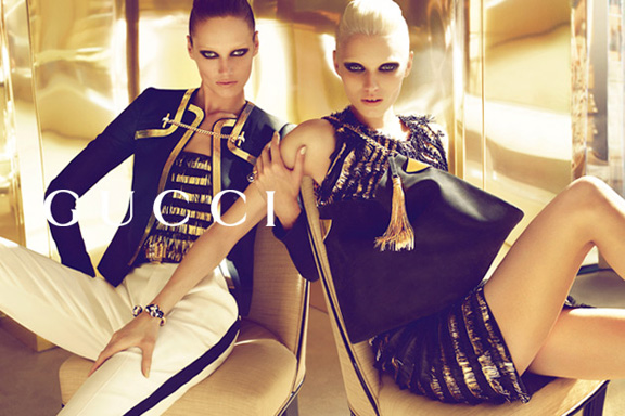 spring summer advertising campaigns, abbey lee kershaw, mert and marcus, gucci