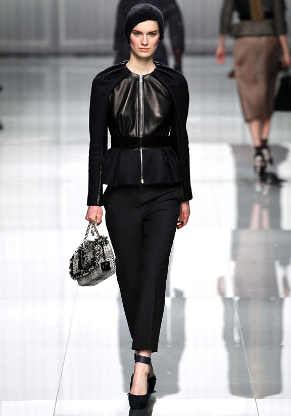 Paris fashion week, fashion shows, catwalk, fall winter 2012, Christian Dior, Bill Gaytten