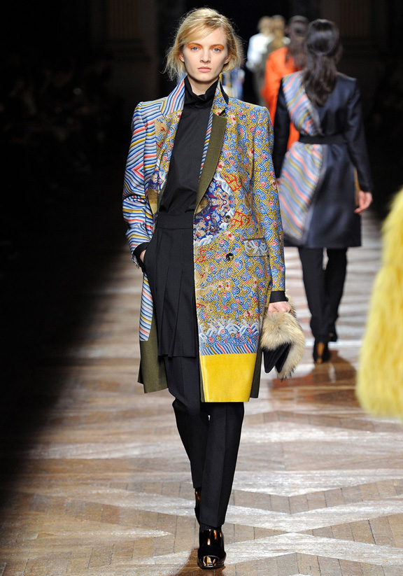 Paris fashion week, fashion shows, catwalk, fall winter 2012, dries van noten