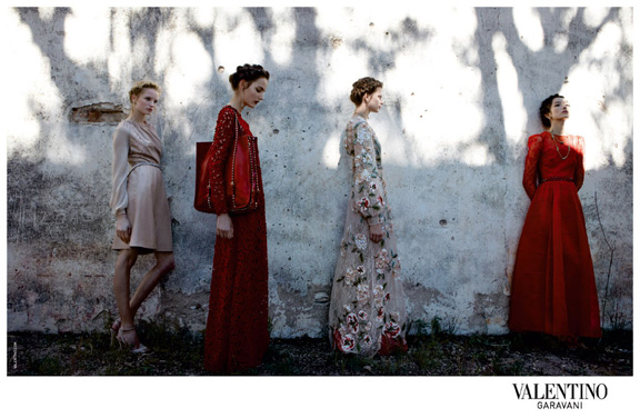 sring summer advertising campaigns, deborah turberville, valentino