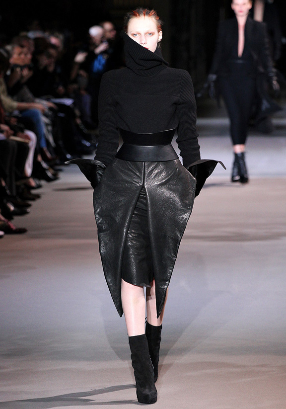 Paris fashion week, fashion shows, catwalk, fall winter 2012, Haider Ackermann