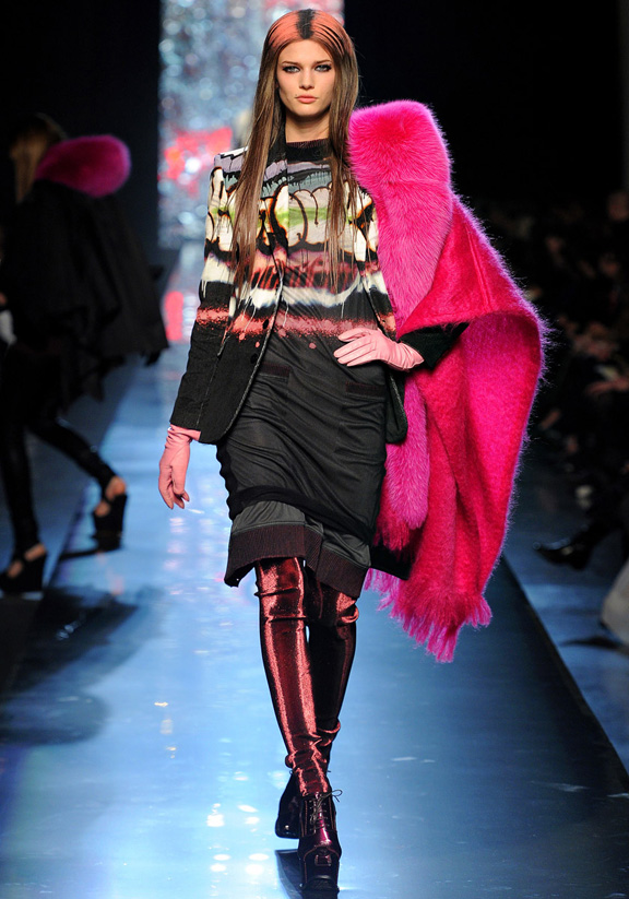 Paris fashion week, fashion shows, catwalk, fall winter 2012, Jean Paul Gaultier