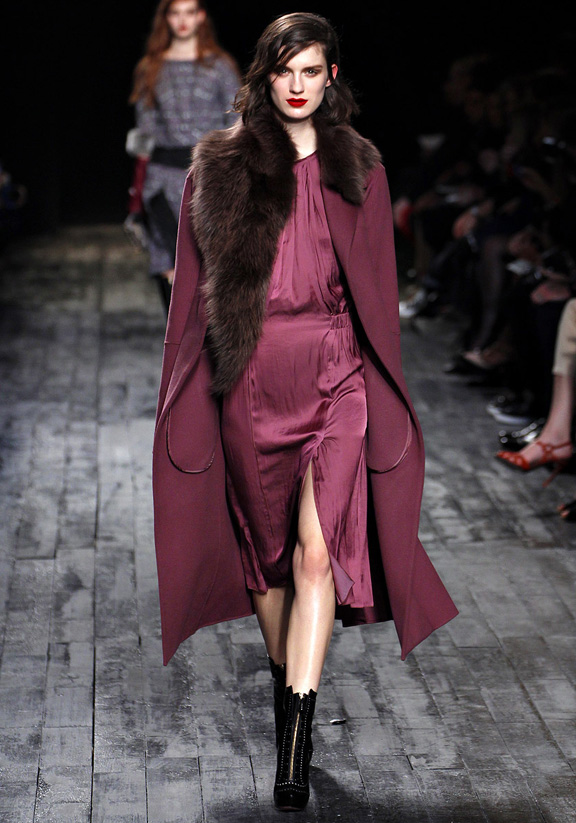 Paris fashion week, fashion shows, catwalk, fall winter 2012, Nina Ricci, Peter Copping