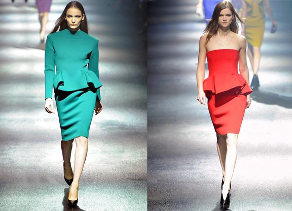 lanvin, fashion quote, peplums, alber elbaz, fashion designers