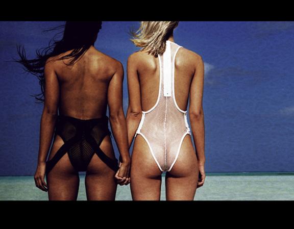 minimale animale, swimwear, bikinis, pirelli calendar