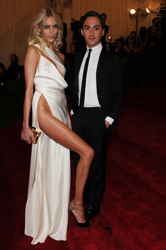 Met ball, fashion, celebrities, red carpet, evening wear, anja rubik