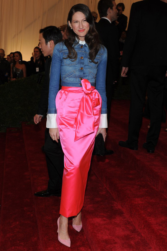 Met ball, fashion, celebrities, red carpet, evening wear, jenna lyons
