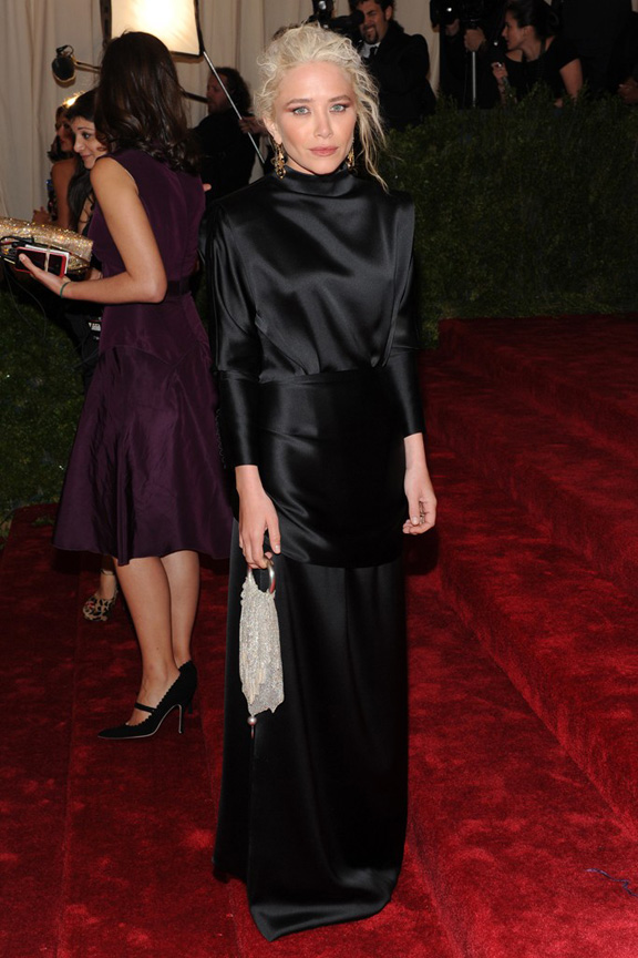 Met ball, fashion, celebrities, red carpet, evening wear, mary kate olson