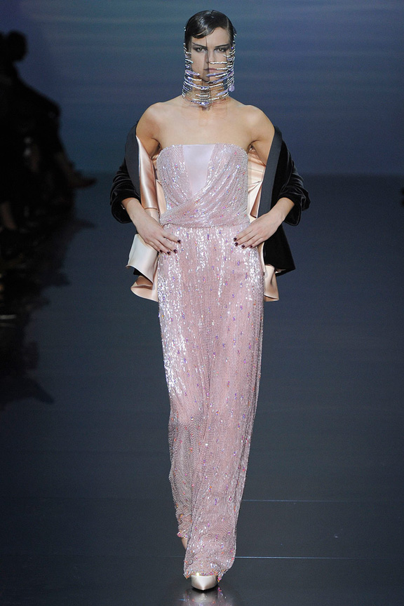 Paris, haute couture, catwalk, runway show, fall 2012, Armani prive, Giorgio armani