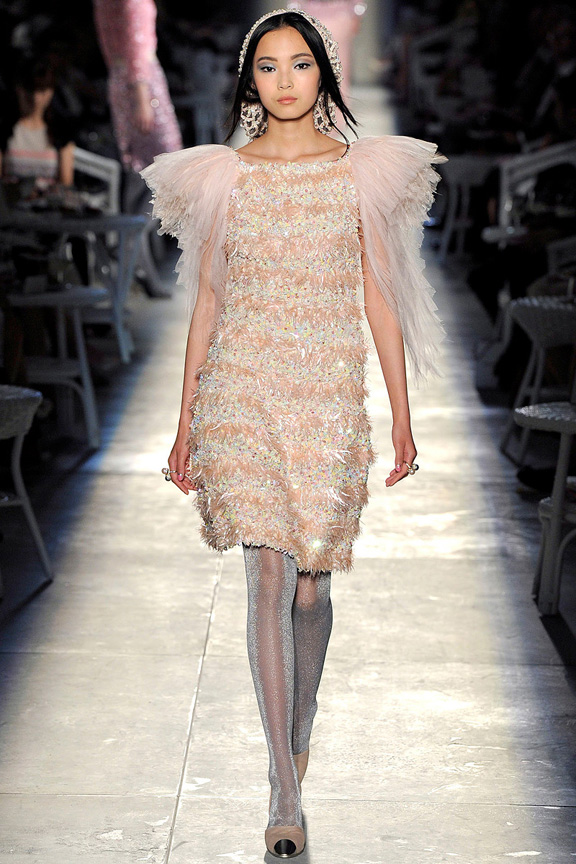 Paris, haute couture, catwalk, runway show, fall 2012, Chanel, karl lagerfeld,