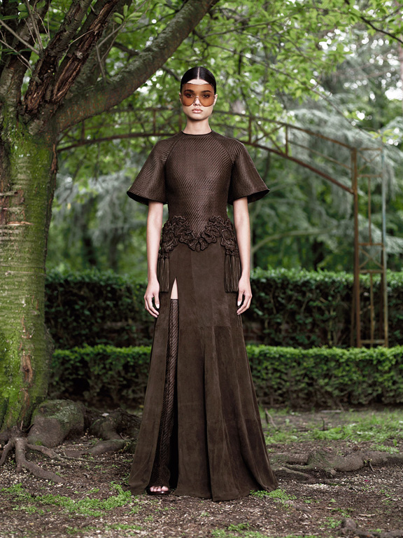 Paris, haute couture, catwalk, runway show, fall 2012, givenchy, riccardo tisci