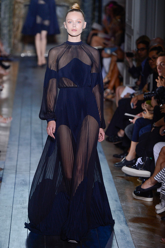 Paris, haute couture, catwalk, runway show, fall 2012, Valentino