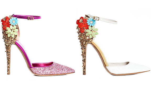 DSquared2, amazing shoes, love, fall winter 2012, accessories, luxury, jewelled