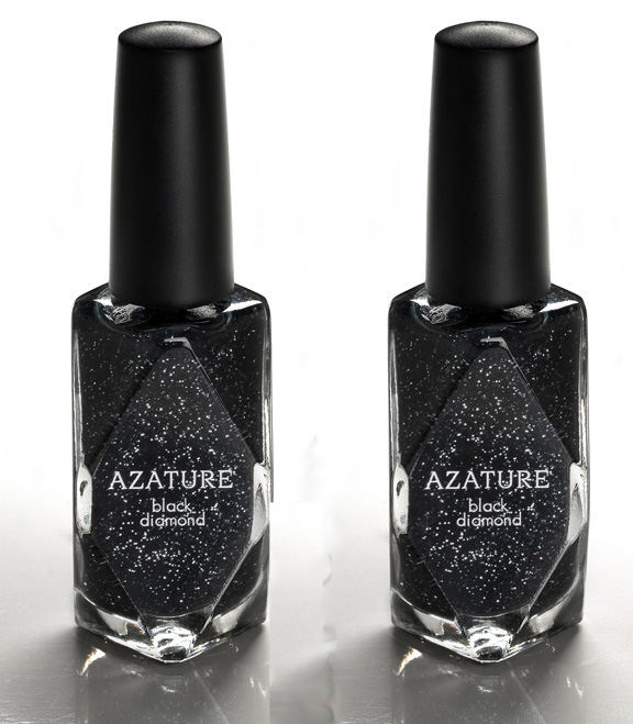 Loathe: Azature Black Diamond Nail Polish | Searching For Style