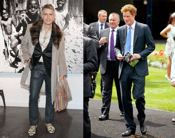 vanity fair, international best dressed list, 2012, celebrity fashion, prince harry