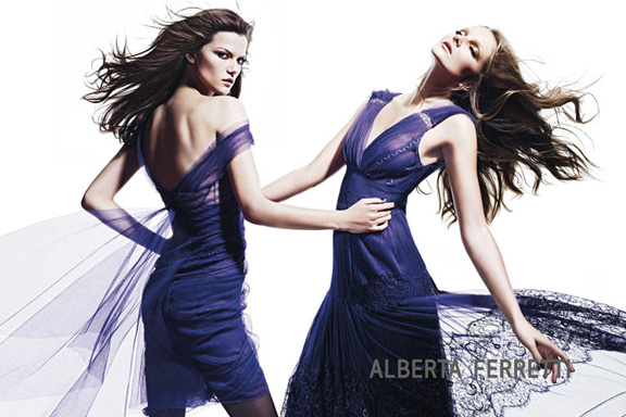 fall winter 2012, fashion photography, advertising campaigns, magazines, alberta ferretti