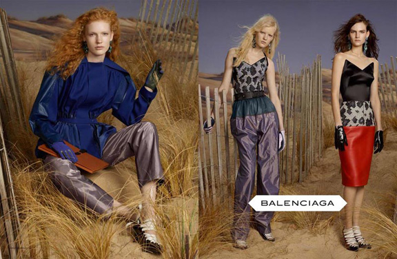fall winter 2012, fashion photography, advertising campaigns, magazines, balenciaga