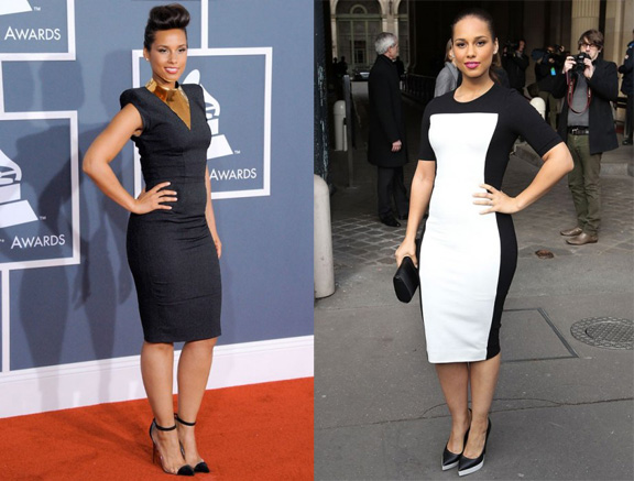 vanity fair, international best dressed list, 2012, celebrity fashion, alicia keys