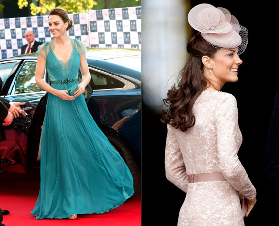 vanity fair, international best dressed list, 2012, celebrity fashion, kate middleton